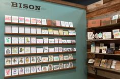 National Stationery Show 2013, Part 10 - Bison Bookbinding and Letterpress