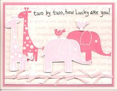 Twin Girls by calmag - Cards and Paper Crafts at Splitcoaststampers
