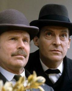 グラナダテレビ版「シャーロック・ホームズの冒険」第21話「四人の署名」です。...