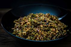 Thermomix bacon and Brussels sprouts Hcg Recipes, Pork Recipes, Whole Food Recipes, Healthy Recipes, Yummy Recipes, Healthy Dishes, Healthy Cooking, Vegetable Side Dishes, Vegetable Recipes