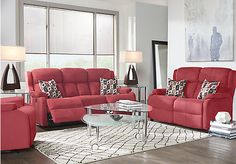 Avondale Cardinal 2 Pc Reclining Living Room. $877.00.  Find affordable Living Room Sets for your home that will complement the rest of your furniture.