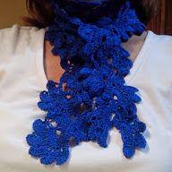 Bufanda de flores