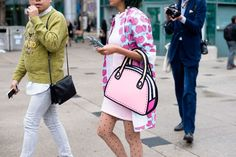 Street Style, Toronto: 21 snaps of cool bag charms and badass jewellery at the…
