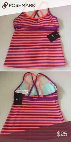 Nike Swim Top Size Small NWT Tankini Nike Swim Top Size Small NWT Nike Swim Bikinis