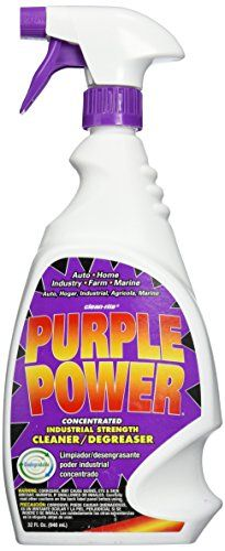 Aiken 4315PS Cleaner (PURPLE POWER 32OZ) - Purple Power Industrial Strength Degreaser - Purple Power Industrial Strength Cleaner/Degreaser works on a wide variety of surfaces in auto, farm, marine, home, and industrial applications. Concentrated formula penetrates quickly and creates a barrier between the stain and the surface being clean...