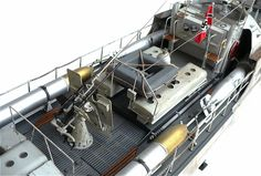 """Here are some more images of Italeri's 1/35 scale Typ. E 100 Schnellboot. From Wikipedia"""" Schnellboot or S-boot (""""fas..."""