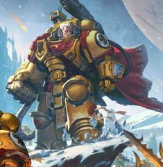 Warhammer 40k Art, Warhammer Models, Character Concept, Concept Art, Character Design, Salamanders Space Marines, Deathwatch, Imperial Fist, Arte Cyberpunk