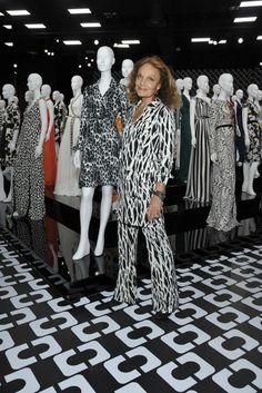 Diane von Furstenberg [Photo by John Sciulli]