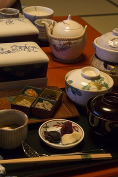 Kaiseki breakfast in