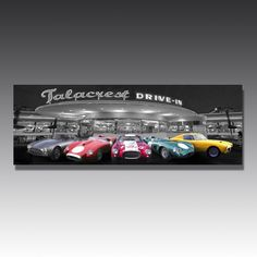 Classic car lovers need this in their lives: an LED adorned image of some of the all time great motors! Games Room Inspiration, Luxury Gifts For Men, Game Room, Motors, All About Time, Classic Cars, Led, Signs, Image