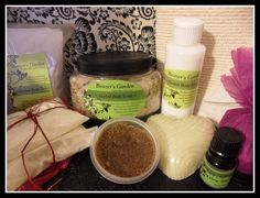 """For two or just you! """"Valentines Deluxe Natural Bath & Body Gift Set by BeazersGarden, $65.00"""""""