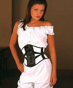 Axfords C210 ribbon underbust corset, £95 | Ethically Produced Ready-to-wear Corsets
