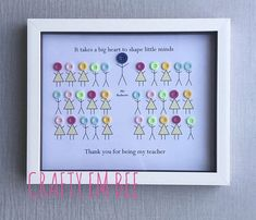 Personalised End of Year Leaving Gift Thank You Teacher Teacher End Of Year, Be My Teacher, Teacher Signs, Volunteer Appreciation Gifts, Teacher Appreciation Week, Appreciation Cards, Teacher Thank You Cards, Thank You Gifts, Leaving Gifts