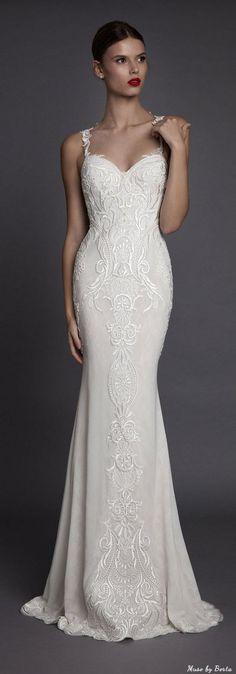 Muse by Berta Wedding Dress AMANCIA 2 | Deer Pearl Flowers