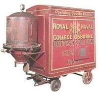 eerste stofzuiger 1901