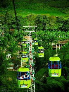 Parque del Cafe Quindio - Colombia —