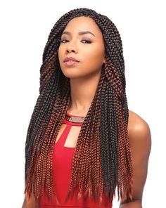 "Sensationnel African Collection Crochet Braid - Senegal Box Braid 40"""