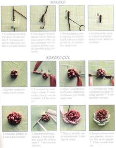 Ribbon Embroidery How to...