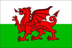 Football Poster-Adhesive Window Print - The Red Dragon, Wales Country Flag x 27 inches) Facts About Wales, Wales Country, Craft Font, Wales Flag, Saint David's Day, Welsh Dragon, Cymru, Red Dragon, Dragon Art