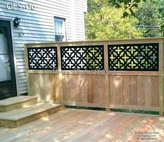 Backyard Patio Designs, Backyard Fences, Backyard Landscaping, Privacy Fence Landscaping, Garden Fences, Backyard Ideas, Privacy Fence Designs, Privacy Fences, Lattice Privacy Fence