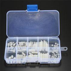 $4.04 (Buy here: https://alitems.com/g/1e8d114494ebda23ff8b16525dc3e8/?i=5&ulp=https%3A%2F%2Fwww.aliexpress.com%2Fitem%2FMTGATHER-120pcs-Set-White-Plastic-M2-Nylon-Hex-Spacers-Washer-Screw-Nut-Stand-off-Assortment-Kit%2F32792489500.html ) MTGATHER 120pcs/Set White Plastic M2 Nylon Hex Spacers Washer Screw Nut Stand-off Assortment Kit Set Box Lowest Price for just $4.04
