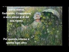"""Giacomo Leopardi: """"IL SABATO DEL VILLAGGIO"""" - Le videopoesie di Gianni Caputo - YouTube"""