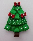 Christmas Tree hair ribbon
