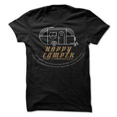 Be a Happy Camper T Shirt, Hoodie, Sweatshirt