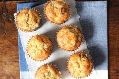 Simpele peer-dadel muffins zonder suiker