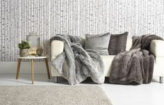 813fc97dae Katrina Hampton Luxury Faux Fur Cushions and Throws