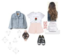"""""""Untitled #130"""" by laylyn on Polyvore featuring STELLA McCARTNEY, ASOS, Gap, Converse, Olivia Burton and Umbra"""