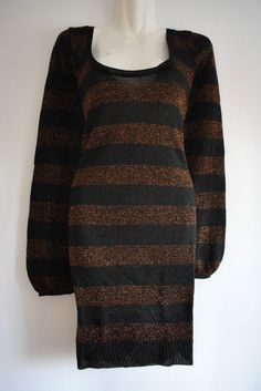 Lurex Stripe Jumper Dress £9.99