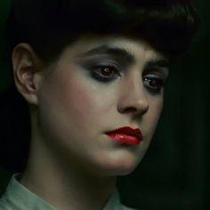 Sean Young as Rachael in Blade Runner, Dir. Ridley Scott (1982). Face inspiration for Adina.