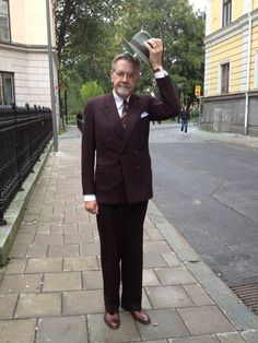 Min 62-års outfit som faktiskt är något äldre än jag. 1940-tal från A.Marchesan men ursprungligen från PUB. #Ingemar Albertsson