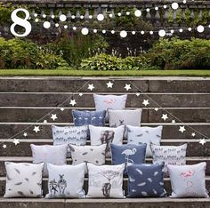8th December - CHRISTMAS SHOPPING! Our new Safari cushions are a great present for you or a loved one. Shop now before we run out of stock! #juliettraversadventcalendar #christmas #christmasshopping
