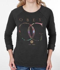OBEY Gold Rose Sweatshirt