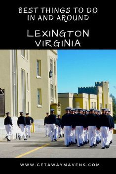 Lexington VA is so much more than VMI, Washington and Lee. Take a carriage tour, feed wild animals, see Civil War Dinosaurs on this quirky Virginia Getaway. Lexington Virginia, Washington And Lee University, Liberal Arts College, Best Weekend Getaways, Girlfriends Getaway, Beautiful Places To Travel, Romantic Getaways, Culture Travel, Historical Sites