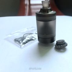 Two air Roulette included, one for MTL and the other for DL. I prefer MTL, how about you? Drip Tip, Black Stainless Steel, Black Tank, Vape, Flask, Stuff To Buy, Style, Stylus, Vaping
