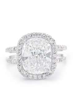 30 Best Split Shank Engagement Rings Images On Pinterest
