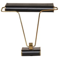 O/3501 Eileen Gray desk lamp | From a unique collection of antique and modern table lamps at https://www.1stdibs.com/furniture/lighting/table-lamps/