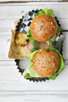 Food - Smiles Beauty and More: Burger di salmone con pane a lievitazione naturale