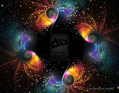 FRACTAL ART ஐ Comets 65 - by GeaAusten on deviantART