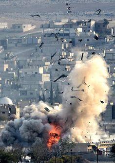 ONG síria denuncia morte de 225 civis em ataques de coalizão liderada pelos EUA