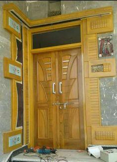 Door Design Images, Home Door Design, House Ceiling Design, Door Gate Design, Door Design Interior, Wooden Front Door Design, Double Door Design, Wooden Front Doors, Latest Door Designs