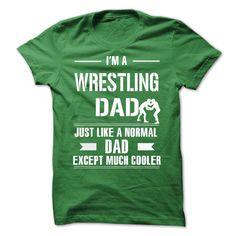 Cool Wrestling Dad T-Shirt