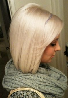 10/6 lightest blonde/ violet= platinum Blonde Hair