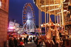 Mulhouse Christmas Market - Copyright Tourisme Mulhouse. All the best Christmas Markets with @ebdestinations #Christmas #Xmas #Europe #Mulhouse