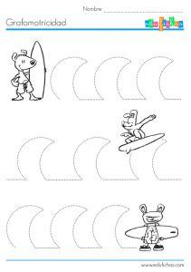 grafomotricidad olas
