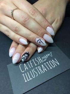Supernatural Nails, Nail Art, Illustration, Art Ideas, Eye, Ongles, Nail Arts, Illustrations, Nail Art Designs
