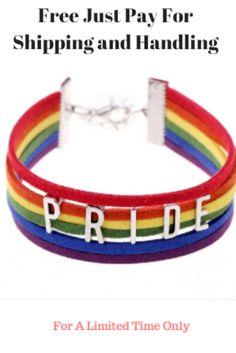 Rainbow Sweatbands Wristbands Mardi Gras Gay Pride LGBT Parade Fancy Dress